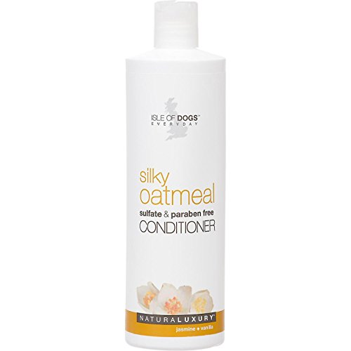 Isle of Dogs Silky Oatmeal Conditioner, 16 Ounce