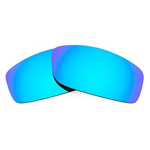 Revant Verres de Rechange Compatibles avec Spy Optic Cooper, Polarisés, Bleu Glacier MirrorShield
