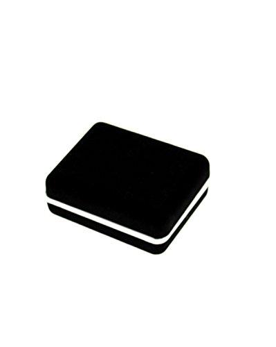 Zac's Alter Ego Paire de boutons de manchette avec boîte cadeau Noir