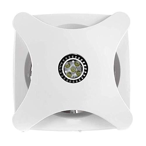 XJJZS Inicio Ventilador de ventilación de Garaje Escape Ventilador de Techo, Ventanas y Montaje en la Pared del Ventilador for la Cocina