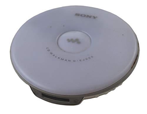 Sony D-EJ 000 tragbarer CD Spieler Discman in weiß