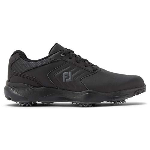 FootJoy ECOMFORT, Zapatos de Golf Hombre, Negro, 45 EU