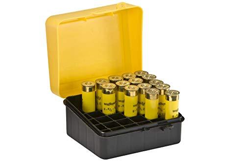 Plano Patronenbox, für 20 Patronen der Größen 3,5 Zoll (8,89cm) und 2,75 Zoll (6,99cm), Gelb