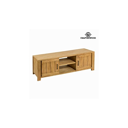 Mueble TV Madera de mindi (140 x 40 x 50 cm) - Colección Square by Craftenwood