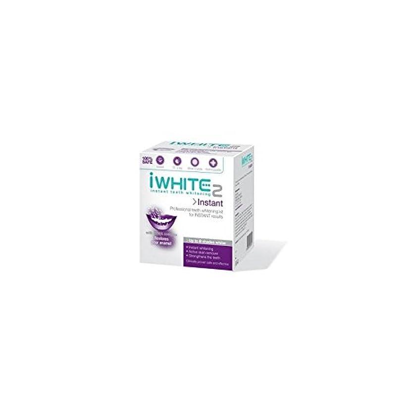 結婚式スイス人あからさまiWhite Instant 2 Professional Teeth Whitening Kit (10 Trays) (Pack of 6) - インスタントキットを白く2本のプロ歯(10トレイ) x6 [並行輸入品]