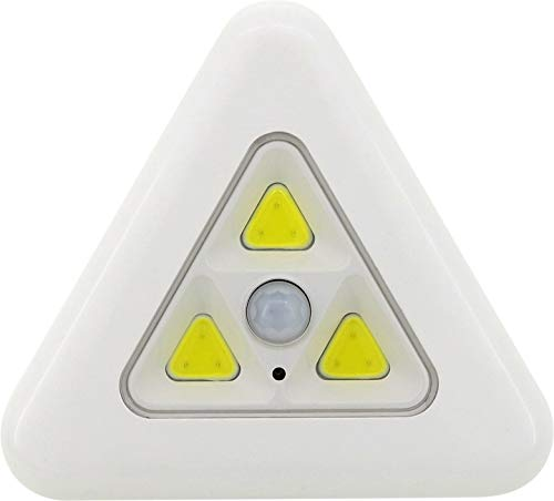 センサーナイトライト コーナー 人感センサー 照明 電池式 ホワイト