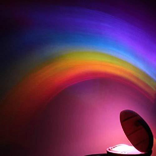 Kreative Regenbogen Sterne Romantik LED Projektion Lampen Nachtlicht