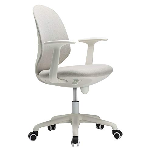 SMQHH Office Chair, Articulate Ergonomic Mesh Office Chair Low-Back Computer Task Office Desk Chair with Swivel Casters for Home Office Conference (Color : Grey, Size : 63cm63cm97cm)