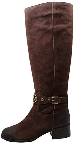 Michael Michael Kors Womens Heather Boot Closed Toe Knee High, Black, Size 6.0