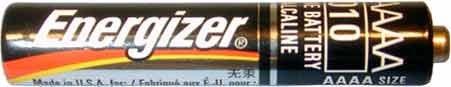 100 NEW AAAA ENERGIZER Batteries model 4330210040