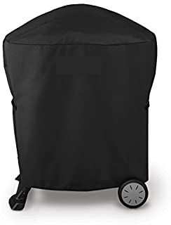 Broilmann Grill Cover for Weber Q 100/1000 and 200/2000 Series with Q Portable Cart, Heavy Duty and Waterproof 600D Grill Bag