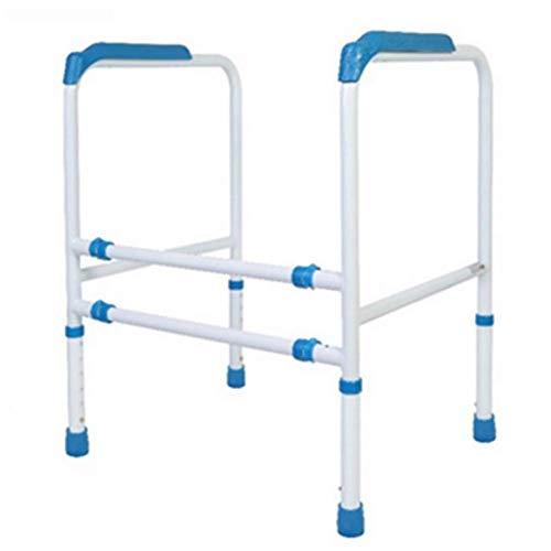 Regulowana rama ze stopu aluminium ze stopu aluminium, wolnostojąca barierka ochronna do toalety, wyściełany podłokietnik Walker, do wspomagania kąpieli dla osób starszych