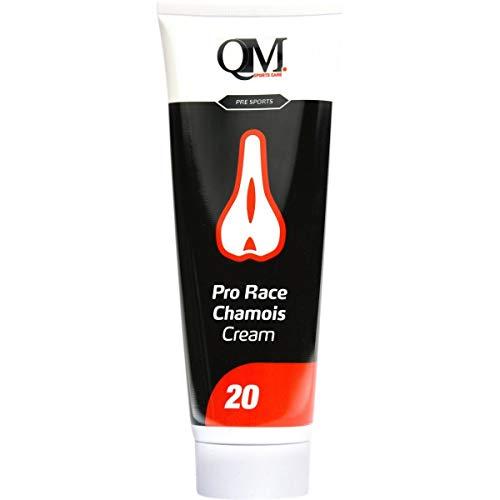 QM 150 ml Pro Race Chamois Cream, Adultos Unisex, Blanco