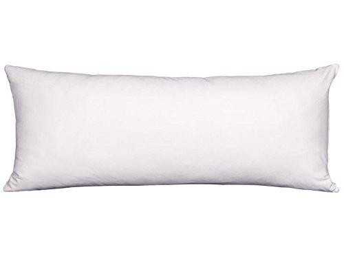 MB - Funda Almohada Tencel Blanco - 90x40 cm - Transpirable e Impermeable