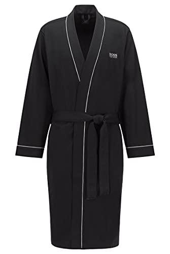 BOSS Hugo Boss - Kimono BM 10121122 02, Accappatoio uomo, Black 1, X-Large (Taglia produttore: XL)