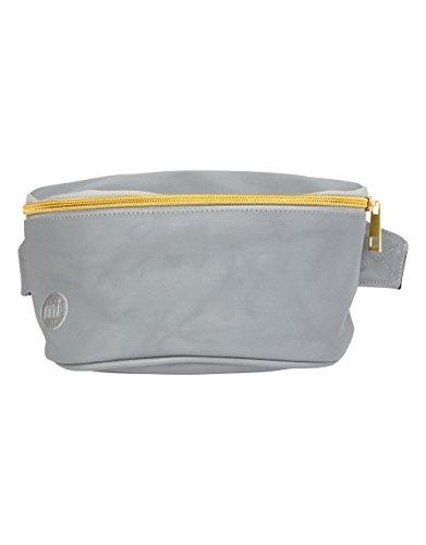 Mi-Pac Mi-Pac Bum Bag - Reflective Silver Sac Banane Sport, 22 cm, Gris (Reflective Silver)