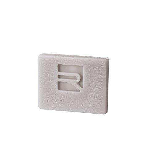 reprofil Accessoires pour LED Profil P de El 01–08 Embout, Lot de 2, gris 978211