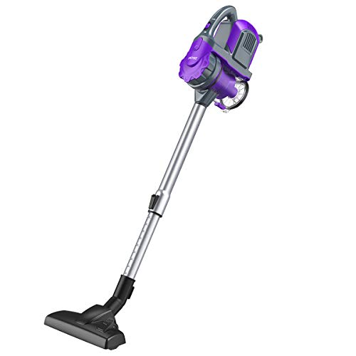 ZIGLINT Cordless Vacuum Cleaner 2-in-1 Lightweight Hand Held Vacuum Cleaner Portable Vacuum Cleaner for Car Pet Hair with Long Lasting Battery and Wall-Mount