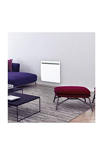 CONCORDE Ecodou 2000 Watts Radiateur électrique a inertie Fonte + Film Chauffant - Entierement programmable LCD - 100% France