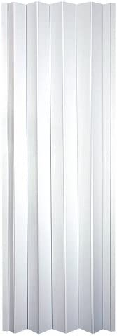 LTL Home Products CT3280TL Contempra Interior Accordion Folding Door, Sand White, 36x80