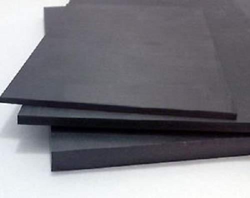 PVC Foam Board Sheet (Celtec) - Black - 24 in x 48 in x 12 MM Thic