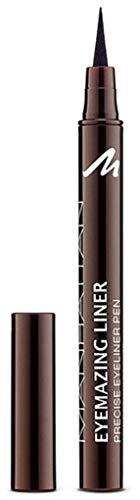Manhattan Eyemazing Liner – Brauner Filz-Eyeliner für perfektes Auftragen – Farbe Brown Toffee...