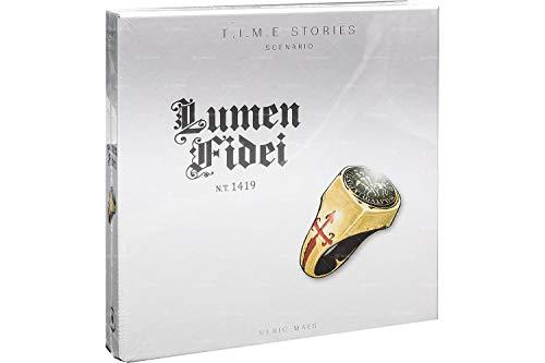 Asmodee - T.I.M.E Stories: Lumen Fidei, Espansione Gioco da Tavolo, Edizione in Italiano, 8970
