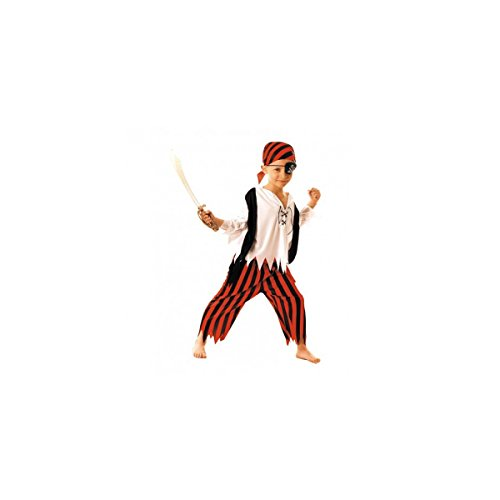 Party Pro- Déguisement de moussaillon pirate, Boys, 8728879046, 4-6 ans
