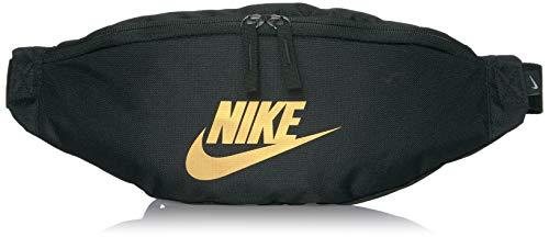 Nike Nike Heritage Hip Pack, Black/Black/Metallic Gold, Misc