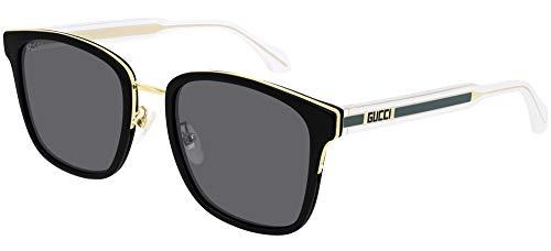 Gafas de Sol Gucci GG0563SK BLACK GREEN/GREY 55/21/150 hombre