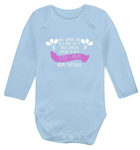 Flox Creative Gilet à Manches Longues pour bébé Spécial d'être Step-Mum - Bleu - Nouveau né