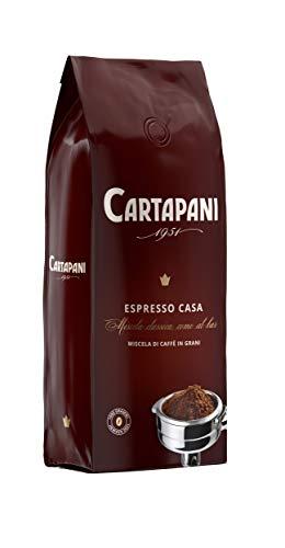 Cartapani 1951   ESPRESSO CASA in grani   caffè pregiato e corposo   1 kg