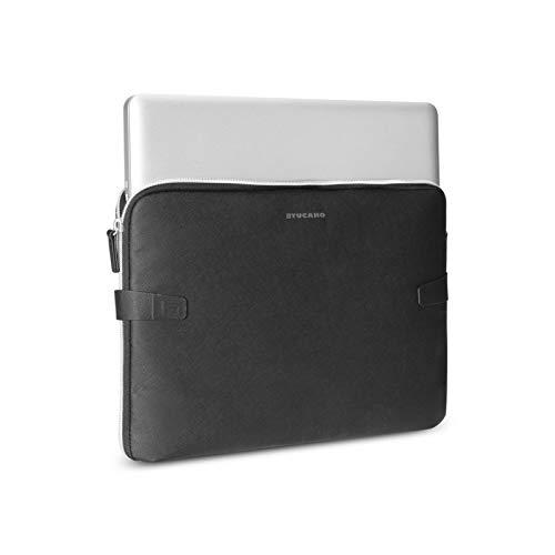 Tucano BF-V-MBP215-BK Velvet Tasche für MacBook Pro 38,1 cm (15 Zoll) 2016 schwarz