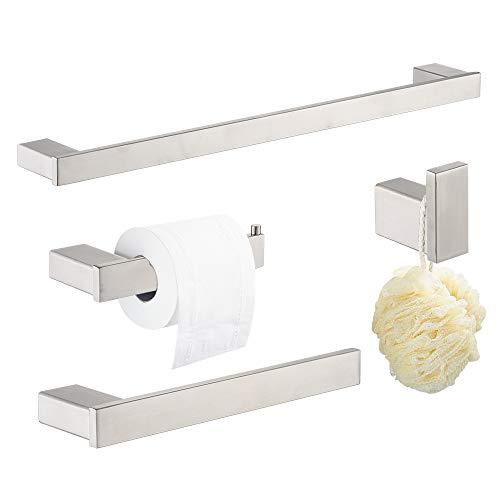 Klabb D68 4-Piece ss304 Bathroom Hardware Accessory Set with 24