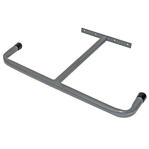 290 mm övre garage/loft förvaringskrok – regl/väggmonterad lång artikelhållare – dubbelsidig korrosionsbeständig långt timmer/kratta och spader stativ – steghållare för skjul och garage