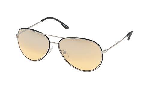 Police S8299M58W01X Gafas de sol, Marrón, 58 Unisex