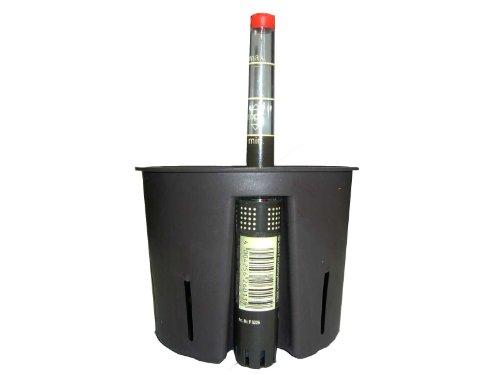 Set 2 teilig für Hydrokultur besteht aus Kulturtopf Ø 22 H 19 cm Wasserstandsanzeiger