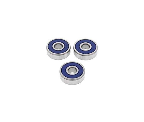 Compatible avec/Remplacement pour 250 RM-76/77 / RM 50 / RM 60-78/83-ROULEMENTS DE ROUES AVANT-25-1289