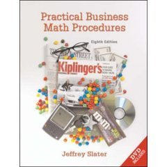 Practical Business Math Procedures W/DVD
