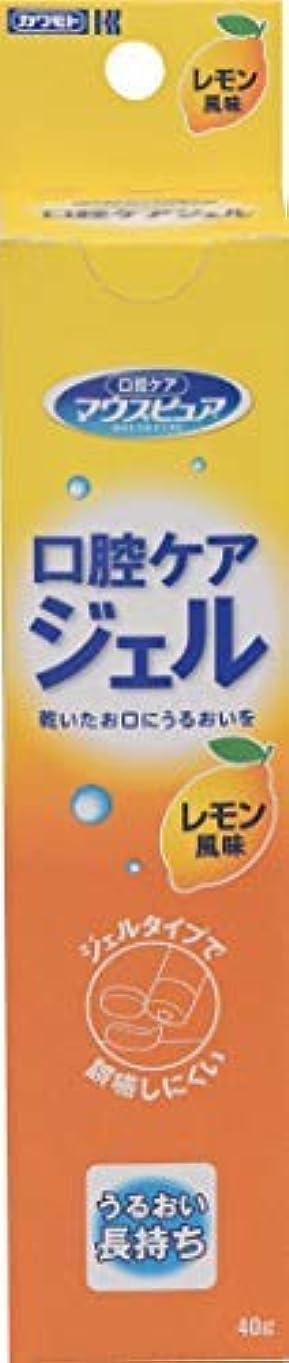 偽善者エキサイティングまばたき川本産業 口腔ケアジェル 40g レモン風味 × 30個セット