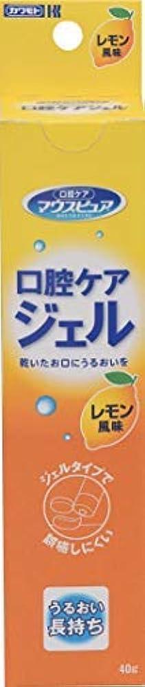 会議ジャングルクローン川本産業 口腔ケアジェル 40g レモン風味 × 30個セット