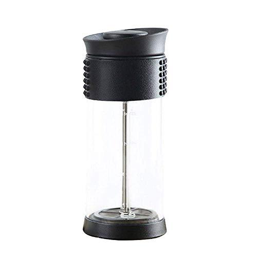 Best Bargain French Press Pot Household Cafe Glass Moka Coffee Tea Milk Foam Milk Foam Maker Filter ...