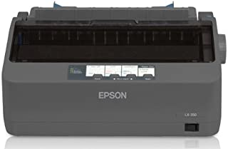 Epson LX-350 Dot matrix printer, 9 pins, 80 column, original + 4 copies, 347 cps HSD (10 cpi), Epson ESC/P - IBM 2380+ emulation, 3 fonts, 8 BarCode fonts, 3 paper paths, single and continous sheet, paper park, USB, Parallel and Serial I/F - BEING RE