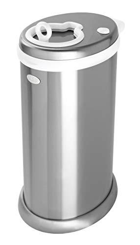 Ubbi U10027 - Contenedor de pañales, color plata