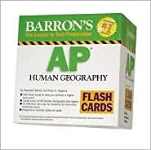 Barron's AP Human Geography Flash Cards Publisher: Barron's Educational Series; Crds edition