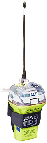 ACR GlobalFix Pro 406 2844 EPIRB Category II Rescue Beacon with Manual Release Bracket and Built-in...