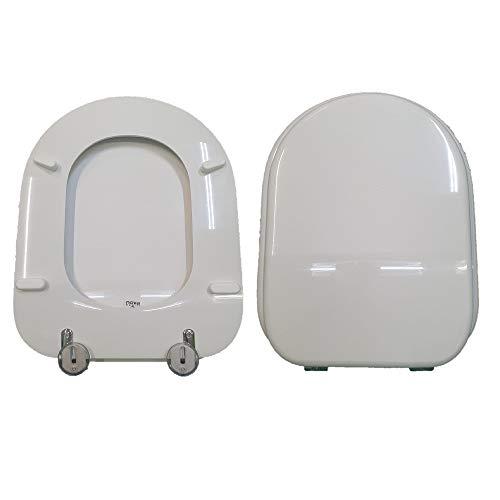 WC-Sitz MARYLIN HATRIA weiß glänzend aus Polyesterharz