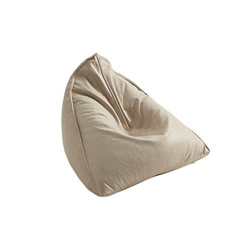Puffs Pera, Bolsas De Frijol, Llenado De Particulas EPP Comodo Asiento Durable Lavable Sofa Perezoso para Sala Cuarto De Los Ninos Bean Bags (Color : Blanco, tamano : #1)