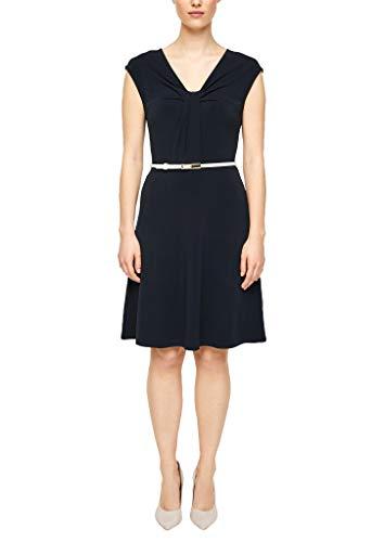 s.Oliver BLACK LABEL Damen 150.10.004.20.200.2014922 Kleid, Navy, 36