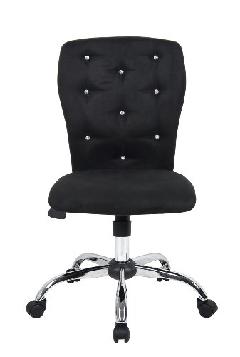 Boss Office Products B220-BK Tiffany Modern Office Chair